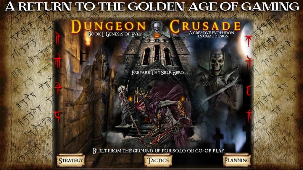 Dungeon Crusade - Book I: Genesis of Evil by Groovus Games Unlimited —  Kickstarter