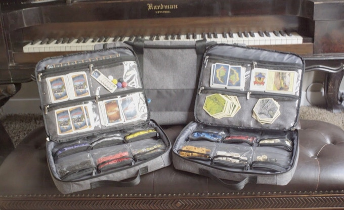 Each Gamefolio case can hold 1-3 games depending on the size and configuration of each game.