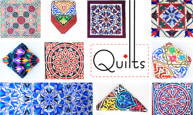 A sample from our wide selection of quilts