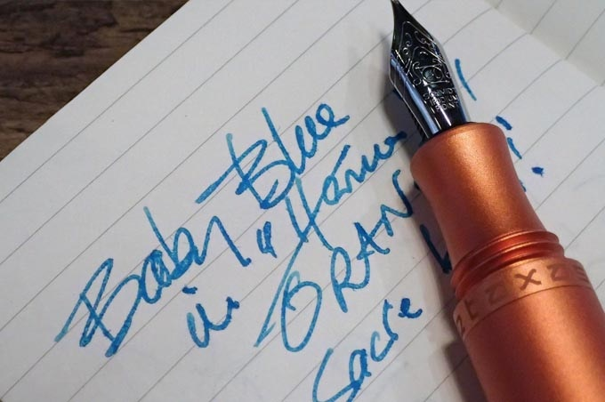 Luscious Orange Stylos Fountain Pen