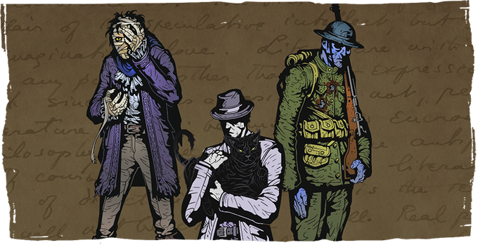 The reclusive Outsider, psychic cat Dusky and the undead Nameless Soldier will be among your companions.