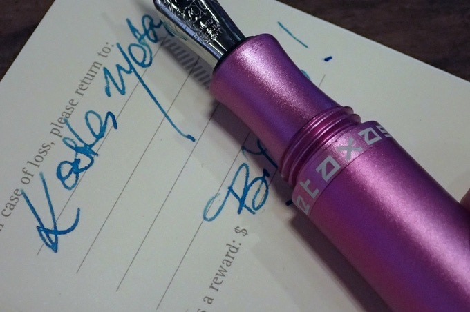 STYLOS solid colour - Pink