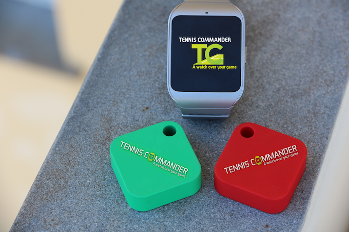 The bluetooth transmitters used for localization.