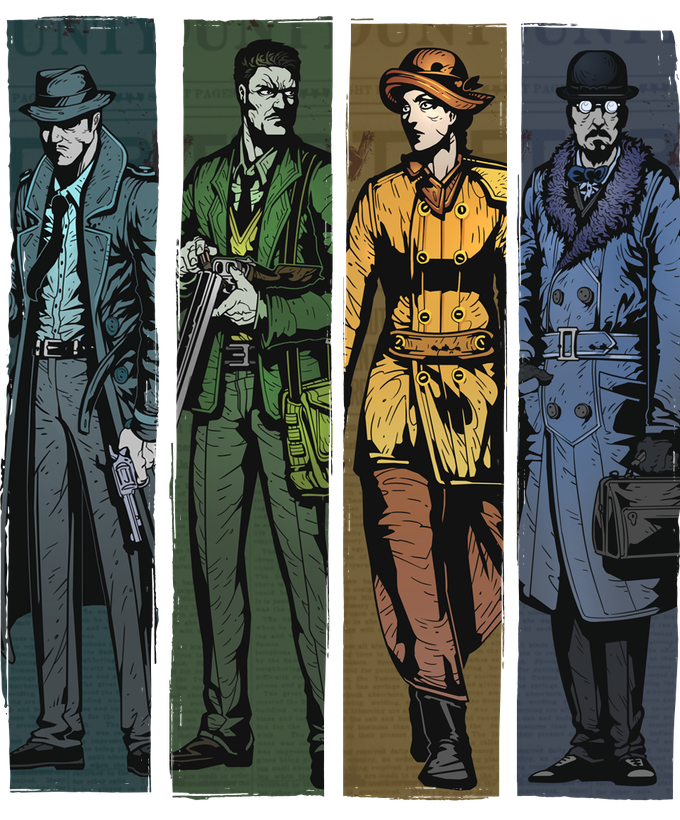 Investigator, Soldier, Aristocrat and Academic Archetypes