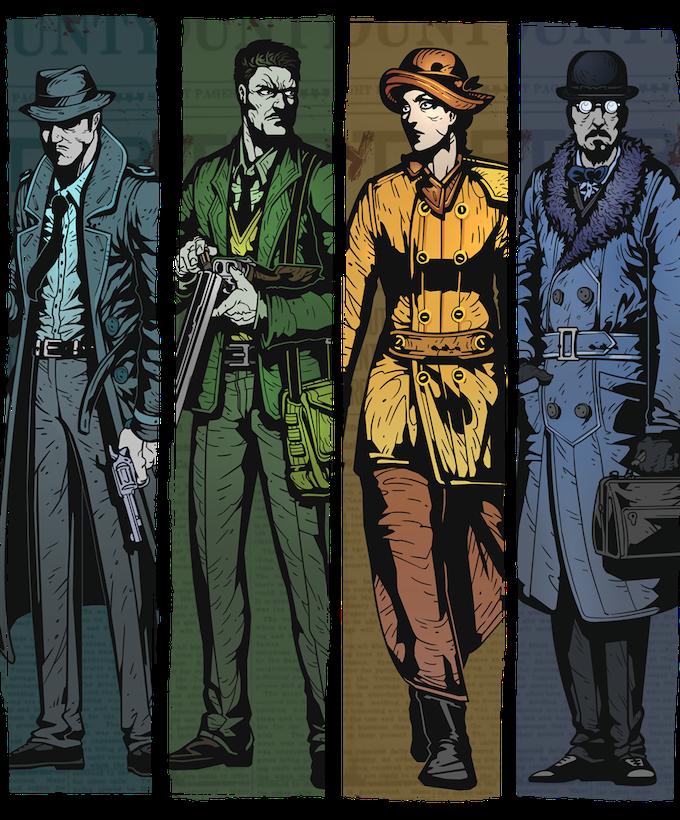 Investigator, Soldier, Aristocrat and Academic Archetypes