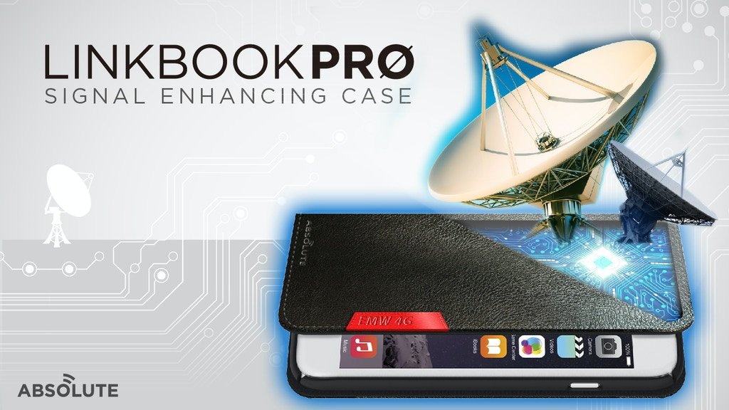 LINKBOOK PRO - No more drop calls or bad signal! miniatura de video del proyecto