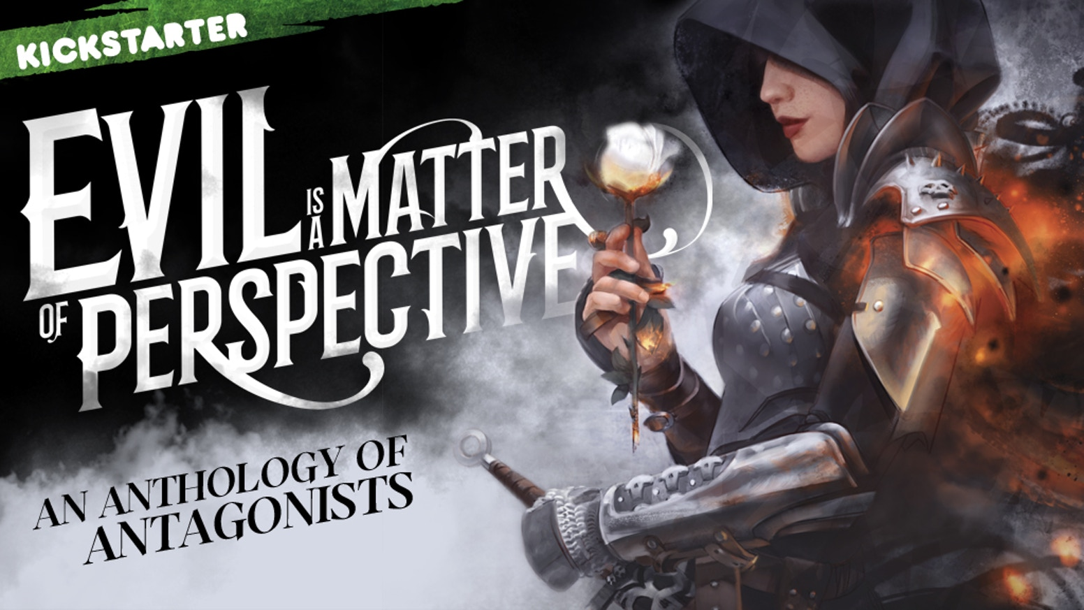 See the world through the eyes of your favourite antagonists in the EVIL IS A MATTER OF PERSPECTIVE anthology.