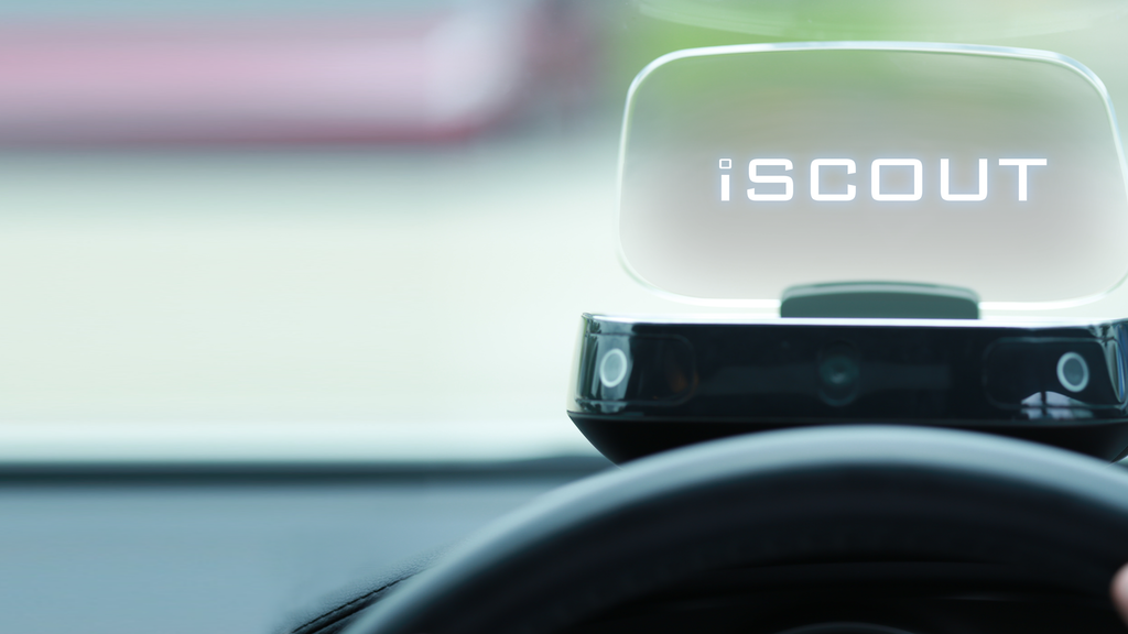 iSCOUT Head-Up Display(HUD) | Making Driving Smarter & Safer project video thumbnail