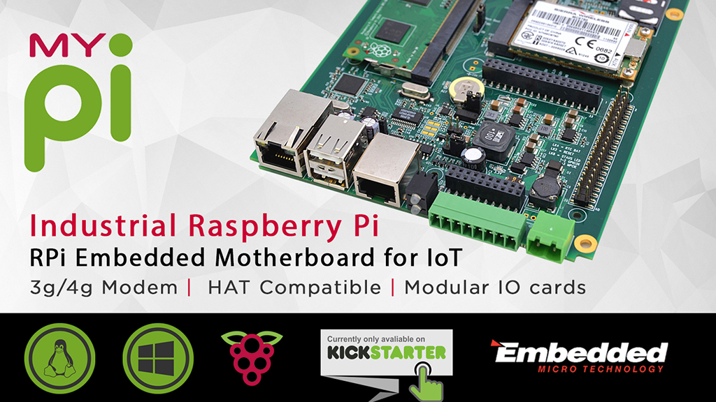 Project image for MyPi : Industrial Strength Raspberry Pi For IoT Projects