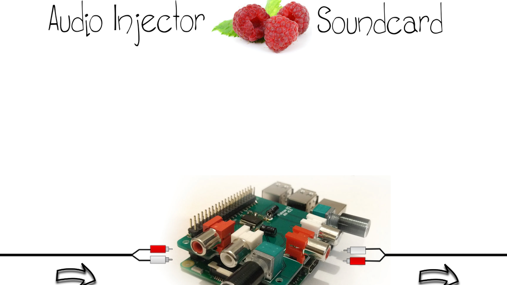 Audio Injector Sound Card for the Raspberry Pi project video thumbnail