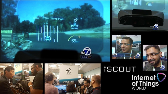 iSCOUT @ IoT World 2016 - ABC7 Coverage