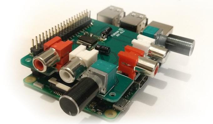 Audio Injector Raspberry Pi Sound Card