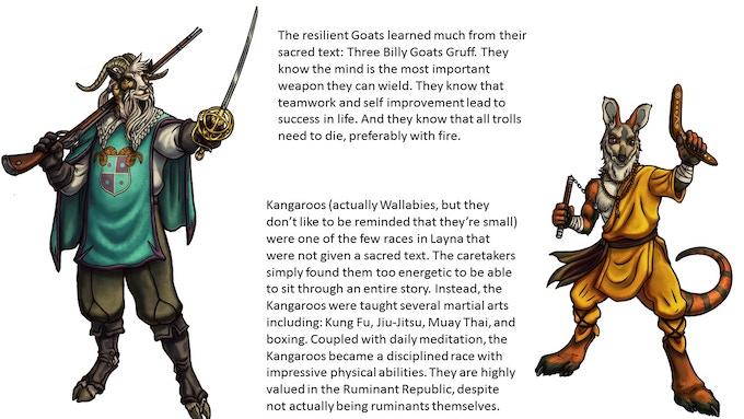 Goat and Kangaroo of the Ruminant Republic
