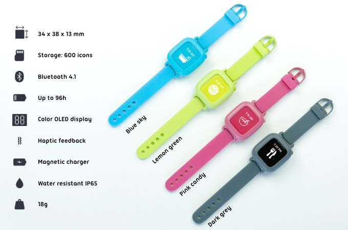 8d179fa4556 The watch comes with a charging cable. An optional charging station can be  purchased