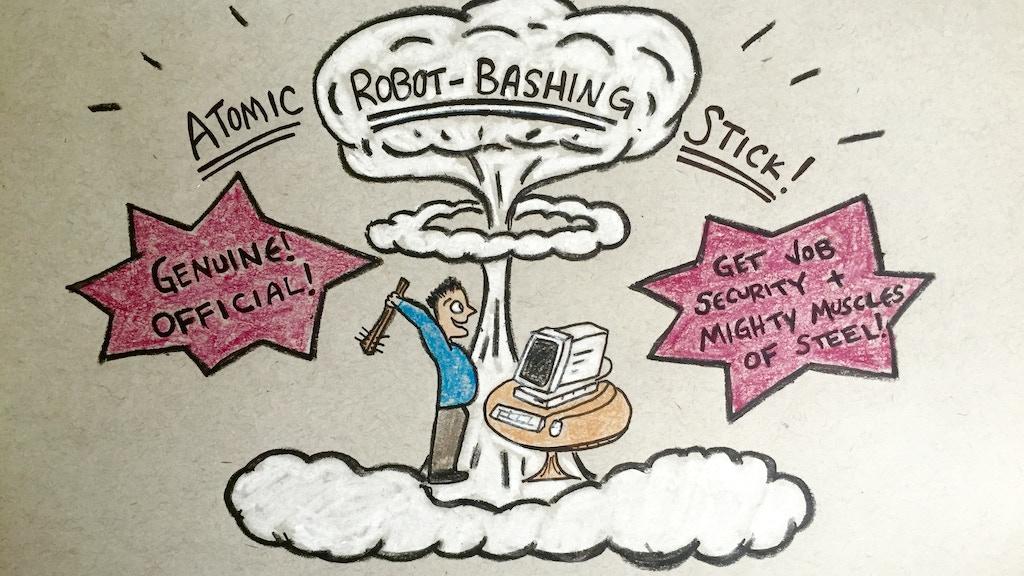 Project image for ATOMIC ROBOT-BASHING STICK