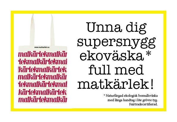 Bidra med 200 kronor och Matkärlek-väskan blir din.