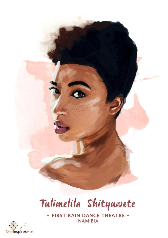 Digital art by Gina Mwoombola