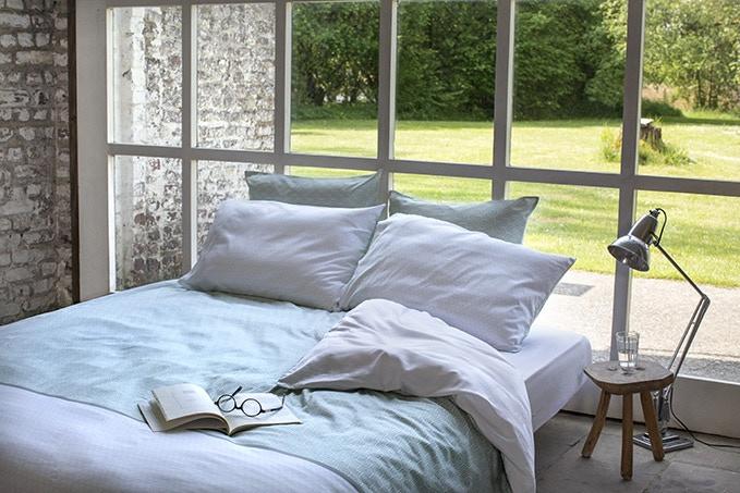 Sweden duvet cover with Loften pillow cases