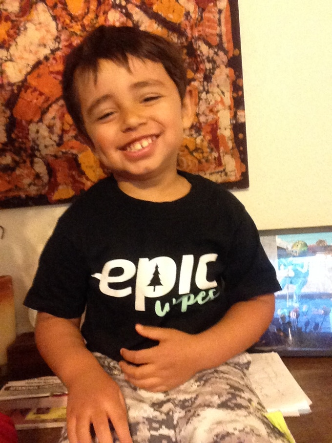 Our Youngest Fan :)