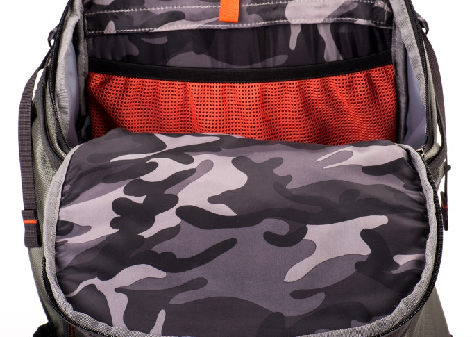 KICKSTARTER EXCLUSIVE! Special camouflage interior not available on future production runs