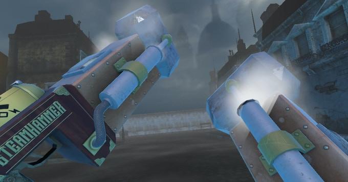 The SteamHammerVR - Gameplay Screenshot