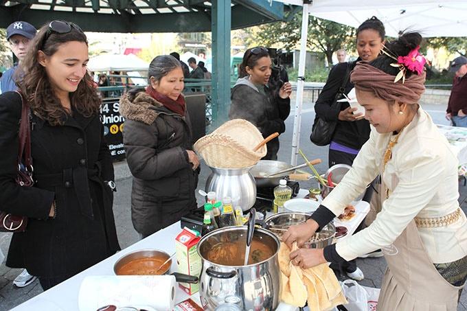 Introducing people to Thai vegan food in New York City