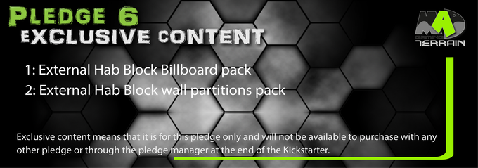 Pledge 6 Exclusive content