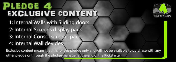 Pledge 4 Exclusive content