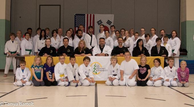 Pine Tree Taekwondo Testing