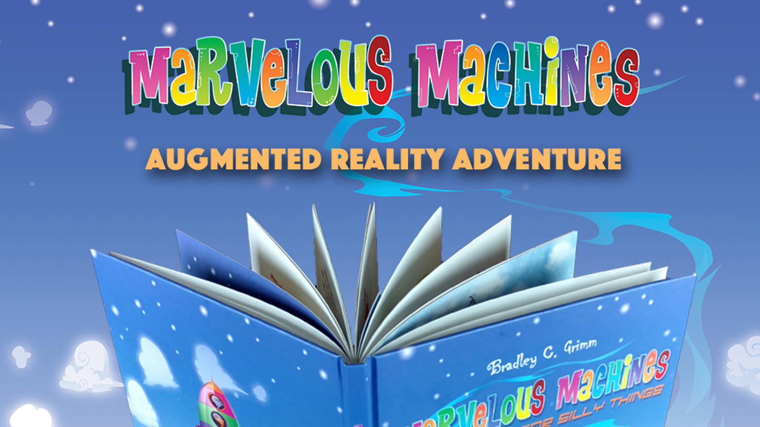 A fun augmented reality children's book.  Let's explore hidden worlds together!