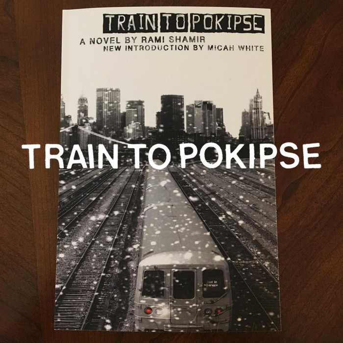"Copies from the new edition of TRAIN TO POKIPSE—the novel that's been called  ""a CATCHER IN THE RYE for the new century""—are now available on Amazon and in independent bookstores across NYC! More locations coming soon."