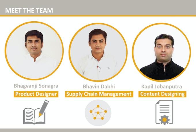 Creative team of focus planner