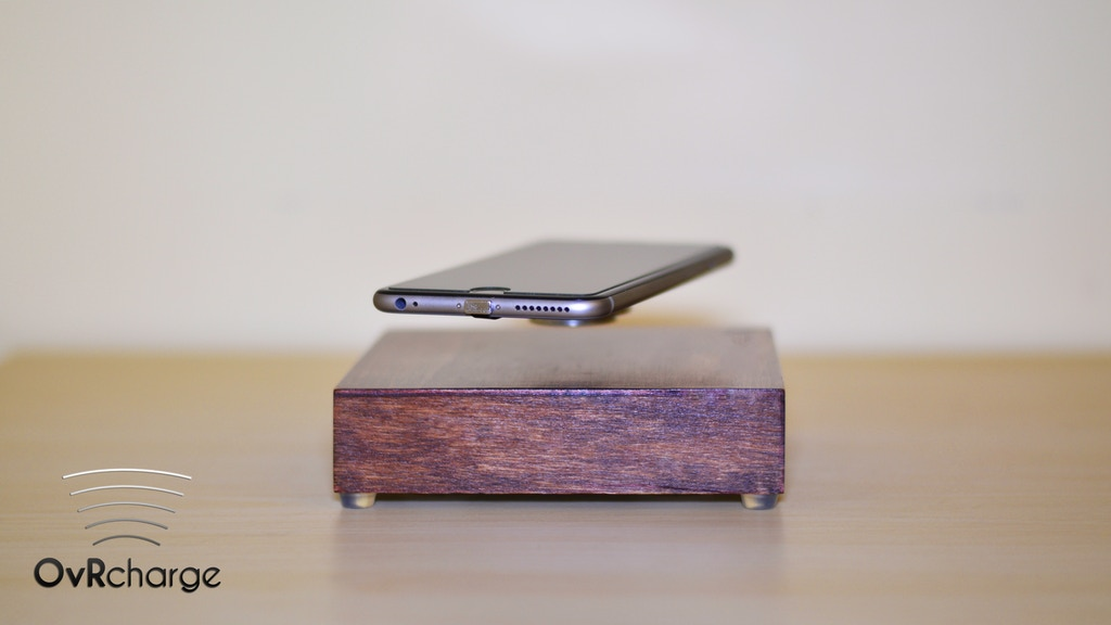 Ovrcharge Levitating Wireless Charger By Ar Designs