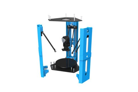 101Hero 3D Printer Assembly Structure Rendering