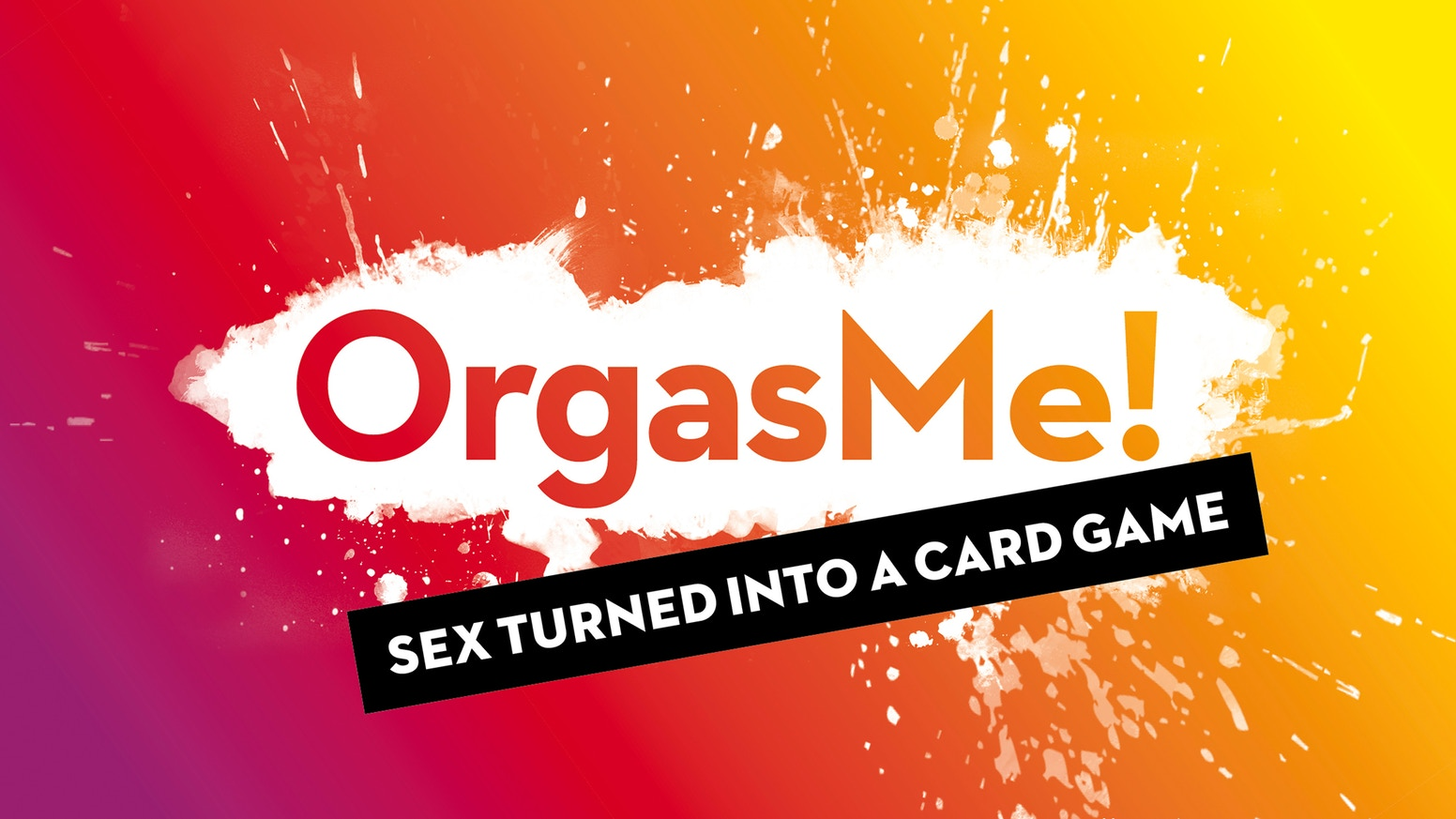 OrgasMe! is sex turned into a hilarious card game with a twist: The first one having an orgasm loses the game. For 2-6 naughty players.