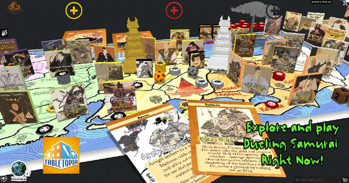 Check out the entire game right now on Tabletopia for FREE!