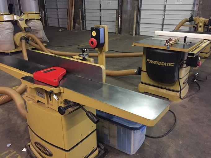 Powermatic Equipment at The Workshop