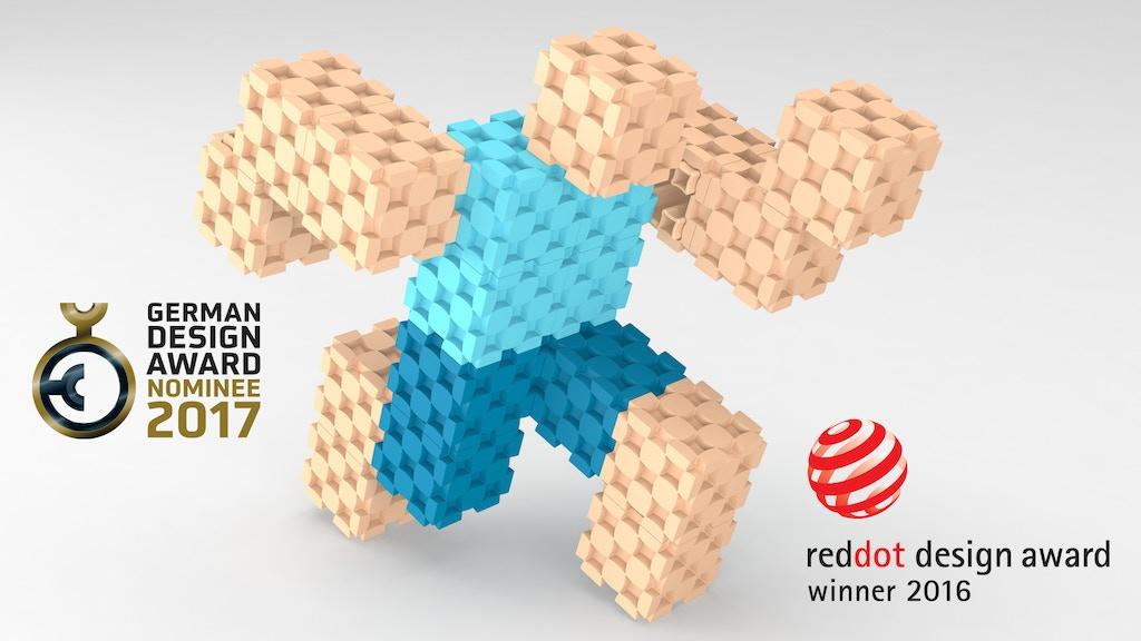 Most Versatile Building Block - Lini cube Design Toy project video thumbnail