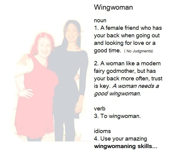 Wingwoman Definition