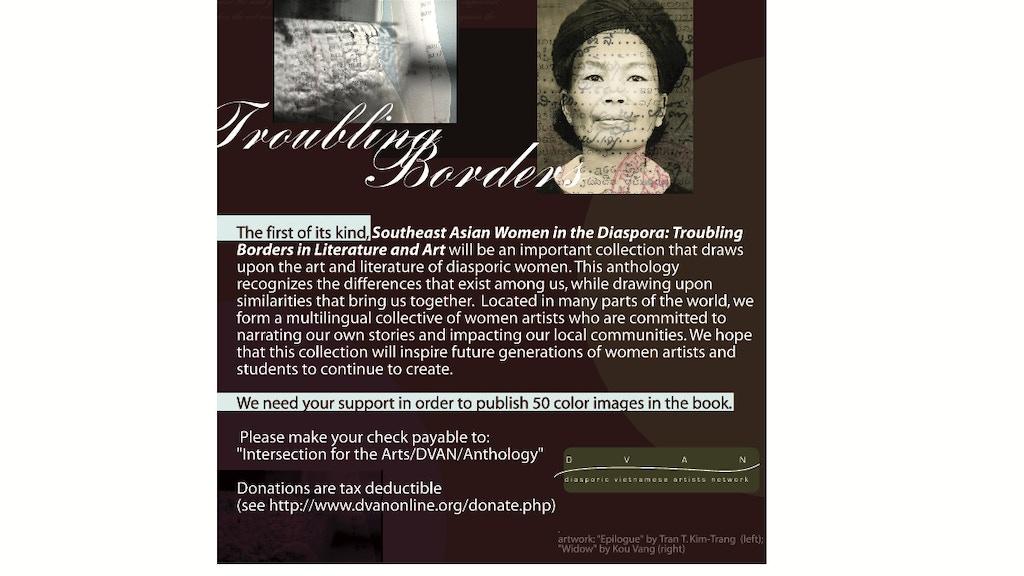 Southeast Asian Women in the Diaspora: Troubling Borders project video thumbnail