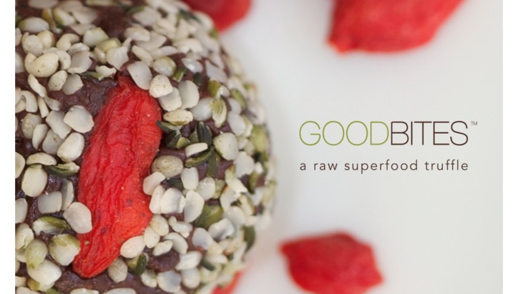 Project image for GOODBITES: A Raw Superfood Truffle