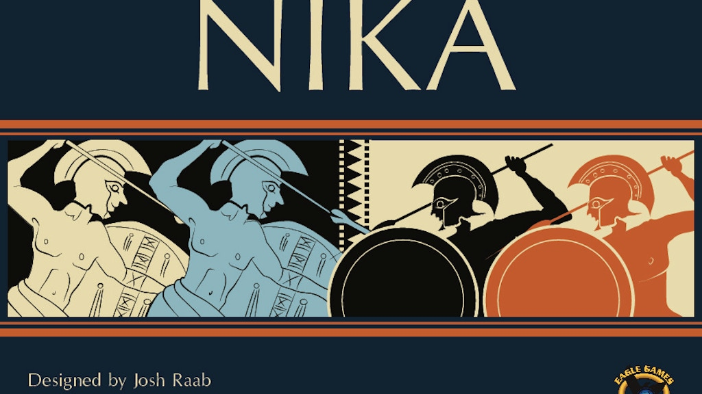 NIKA: A game inspired by ancient Greek geography & warfare! project video thumbnail