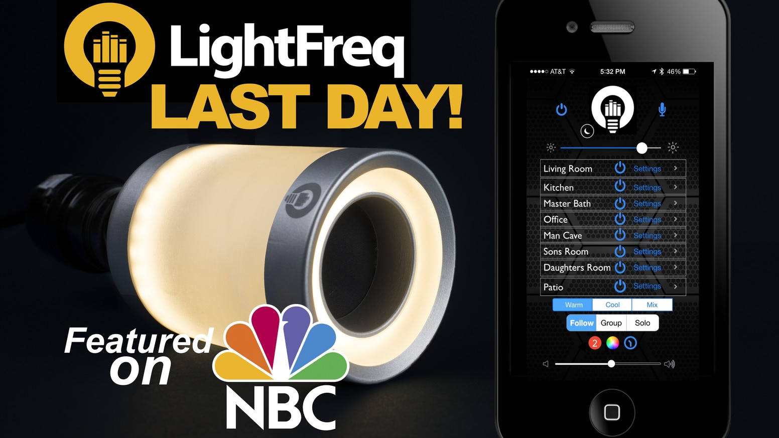 We just launched LightFreq Square2 on Indiegogo! Click here to upgrade or get yours today: