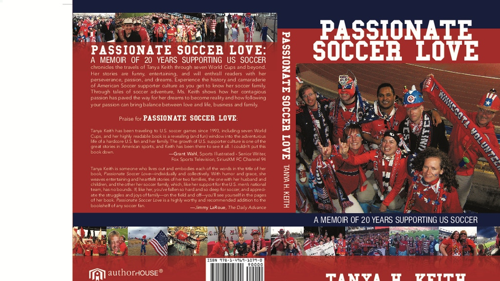 Passionate Soccer Love Publishing and Book Tour project video thumbnail