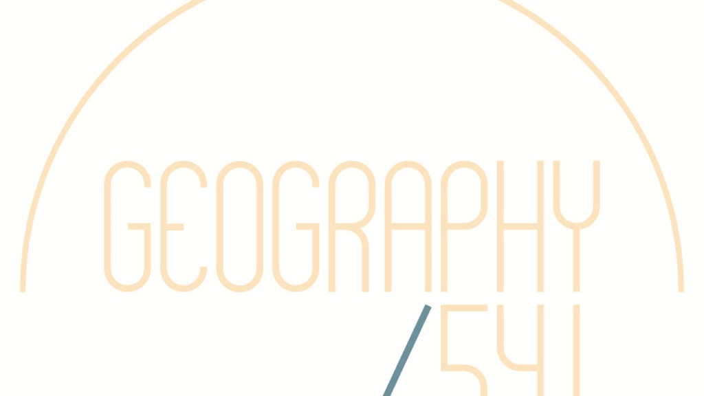 Geography 541: Wanderlust Inspired Jewelry project video thumbnail