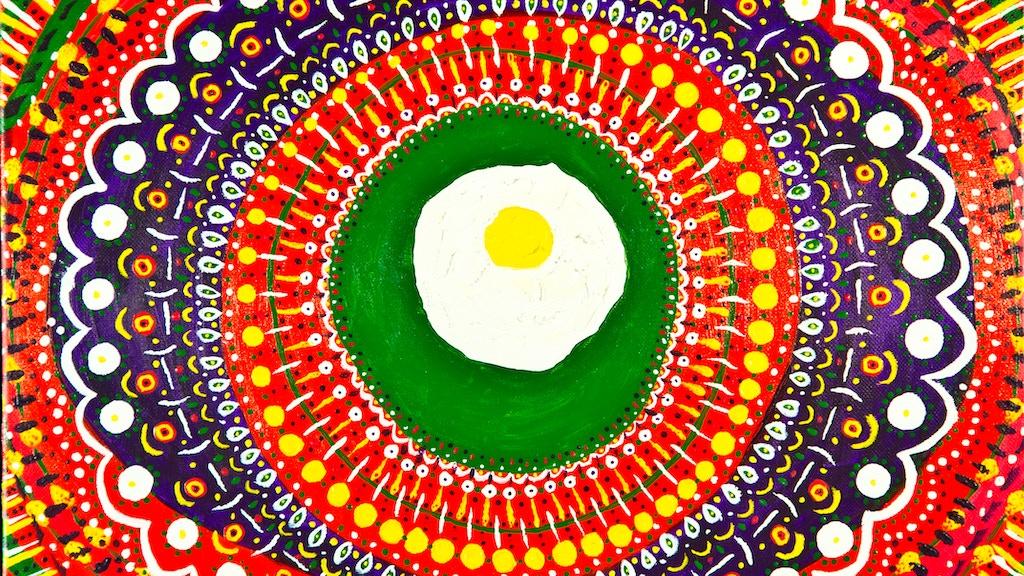 Project image for Fried Egg Mandala