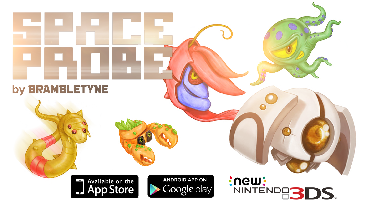 SPACE PROBE - A game for iOS, Android + New Nintendo 3DS ...