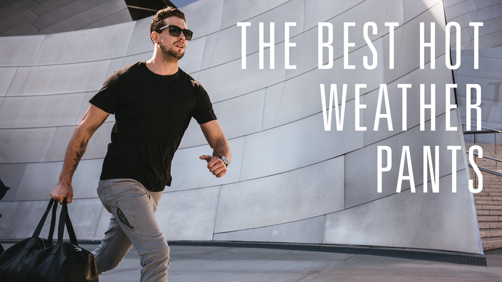 The Best Hot Weather Pants With 16 Travel Features project video thumbnail