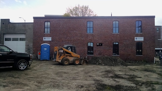Fork Food Lab during construction