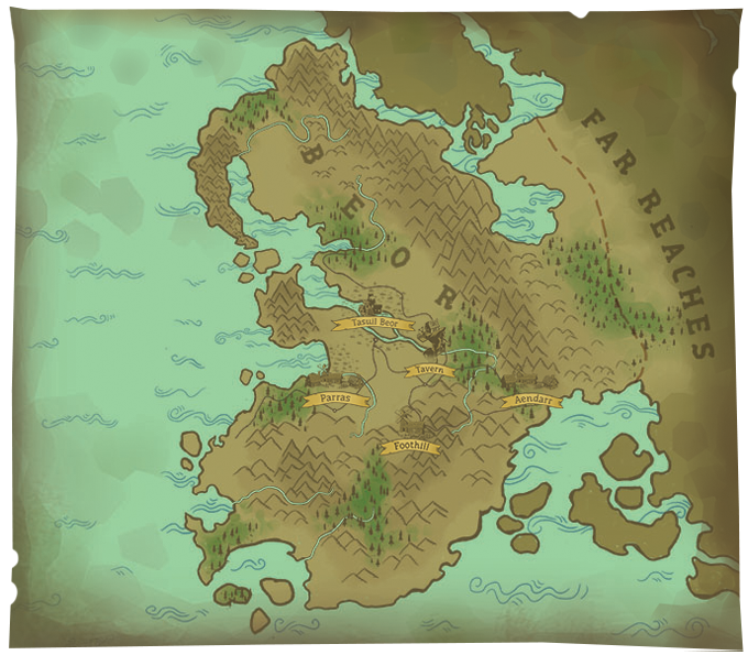 The Fantasy-Filled Land of Beor